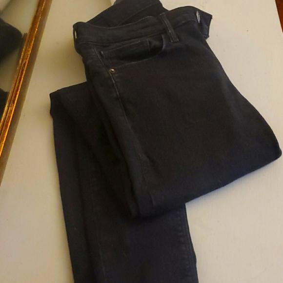 Express Midrise Black Legging Jeans size 6R